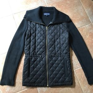 Jones New York quilted sweater